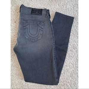 True Religion Low Rise Denim Legging